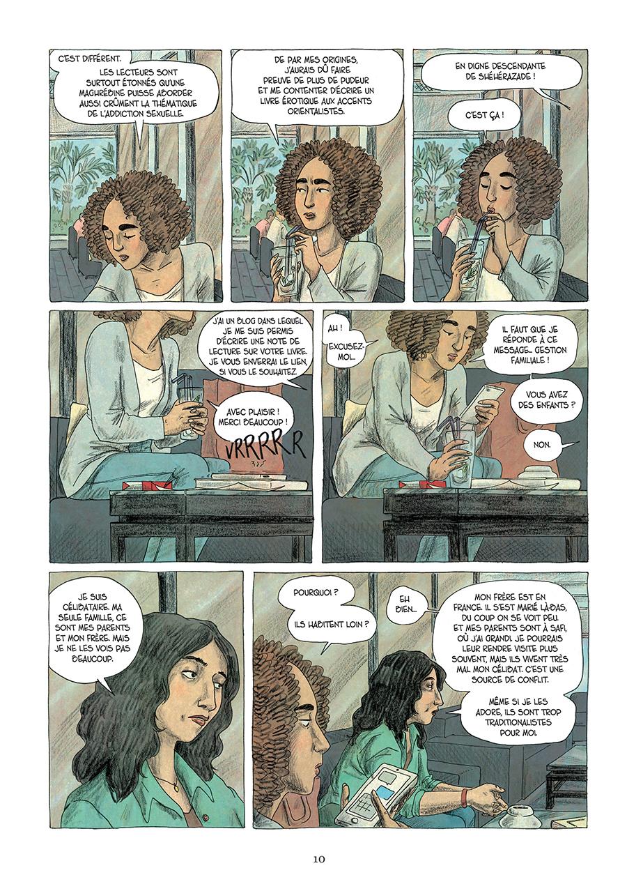 Extrait n°4 de la bd Paroles d'honneur par Laëtitia Coryn