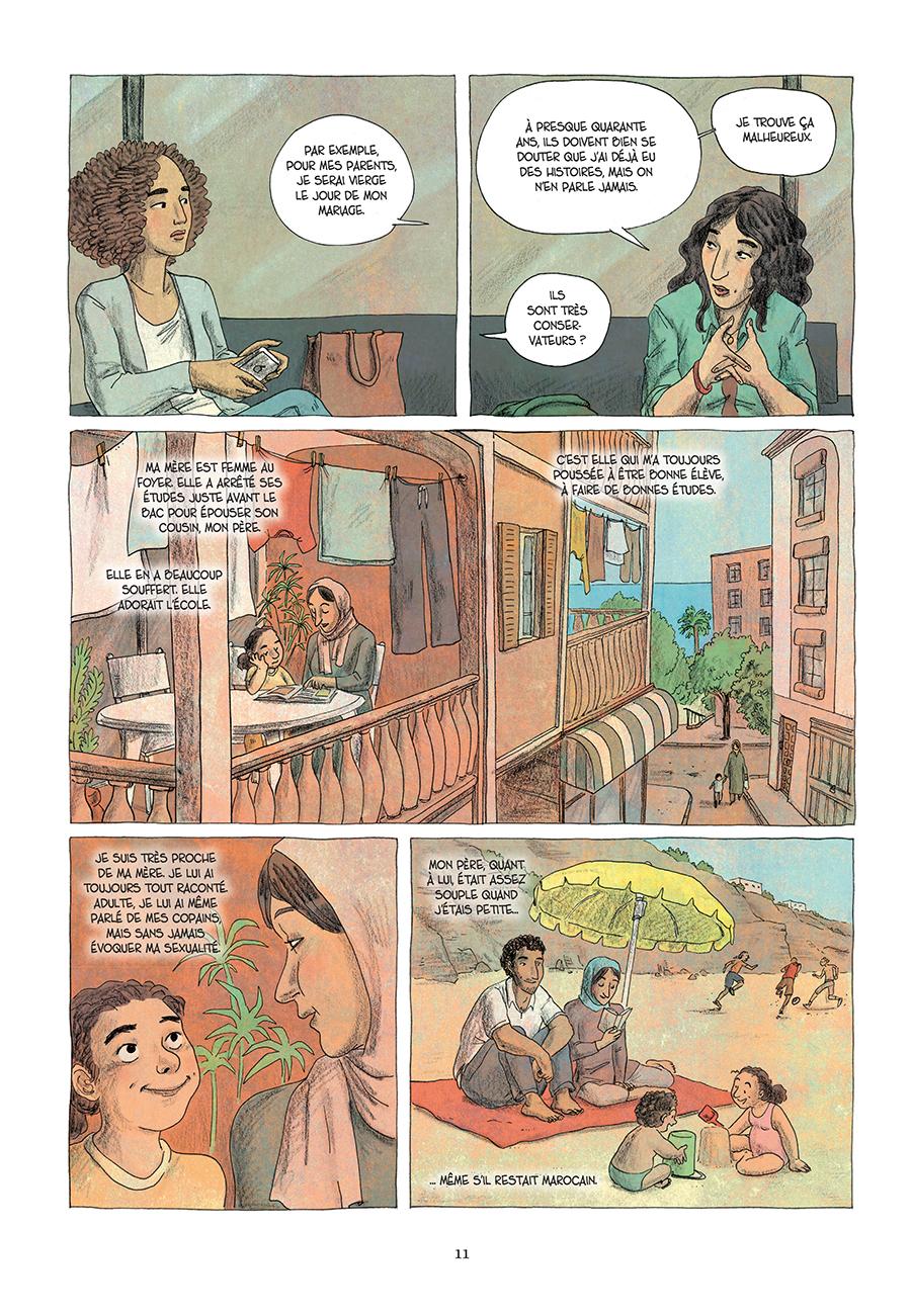 Extrait n°5 de la bd Paroles d'honneur par Laëtitia Coryn