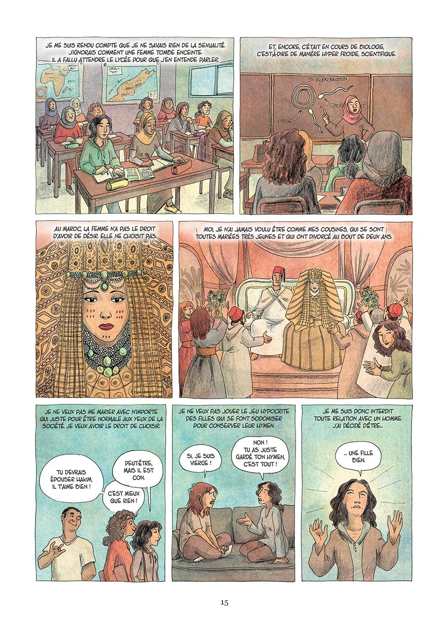 Extrait n°9 de la bd Paroles d'honneur par Laëtitia Coryn