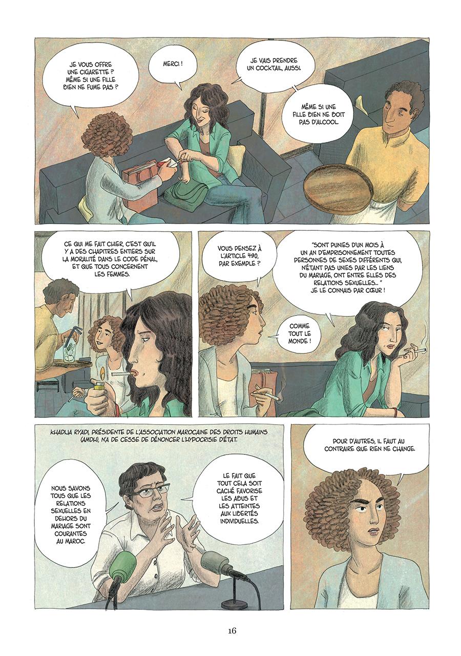 Extrait n°10 de la bd Paroles d'honneur par Laëtitia Coryn