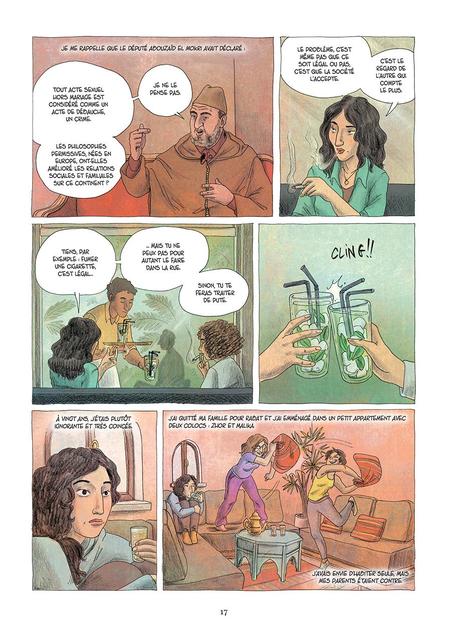 Extrait n°11 de la bd Paroles d'honneur par Laëtitia Coryn