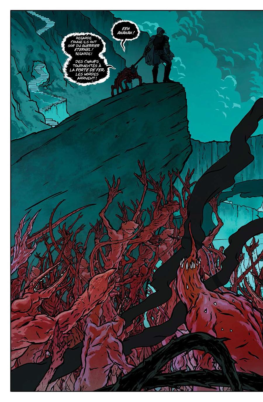 Extrait n°2 du comics Eternal Warrior par Juan Jose Ryp
