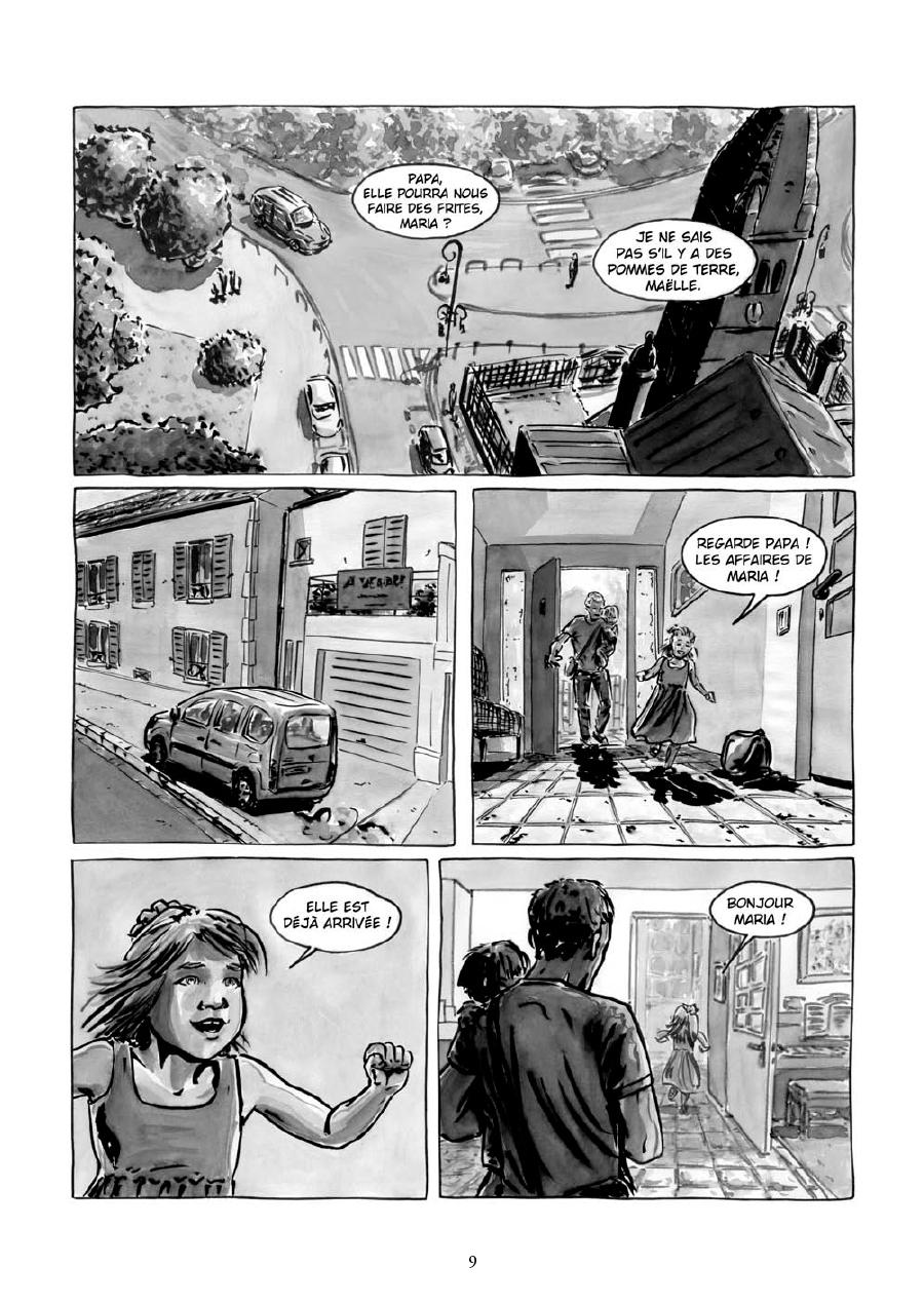 Extrait n°7 de la bd Maria et Salazar