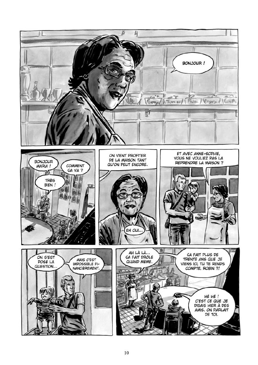 Extrait n°8 de la bd Maria et Salazar