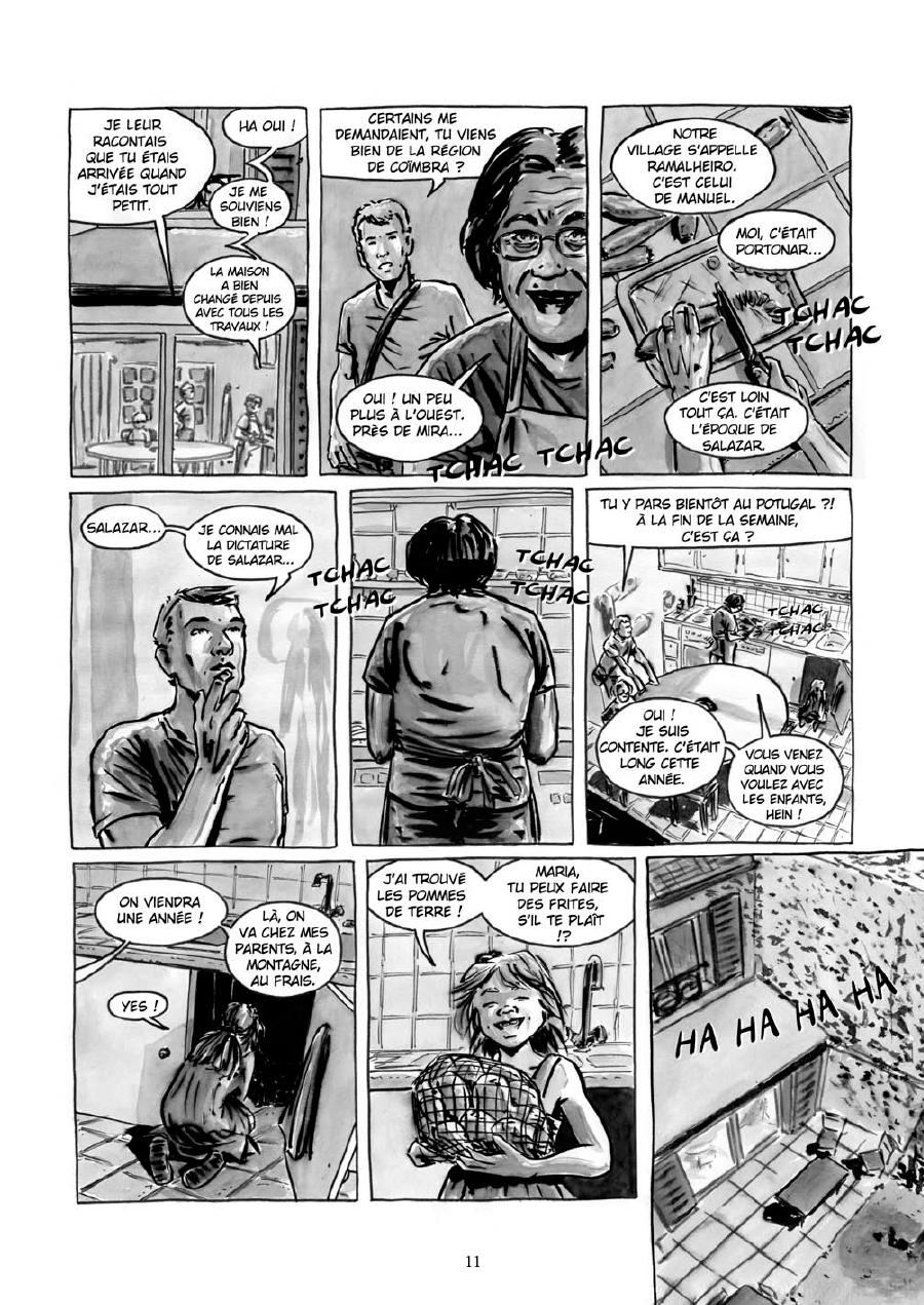 Extrait n°9 de la bd Maria et Salazar