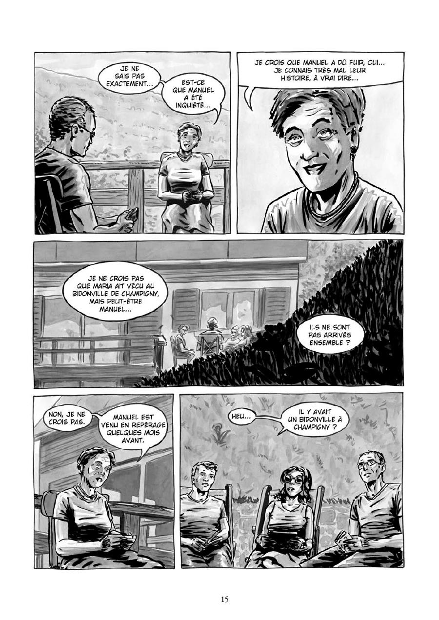 Extrait n°13 de la bd Maria et Salazar
