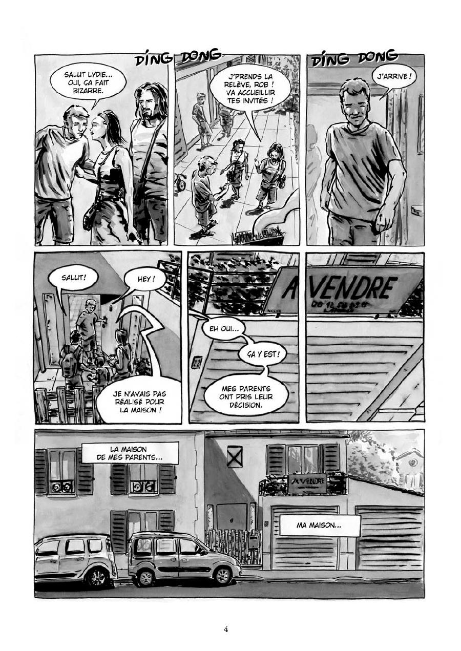 Extrait n°2 de la bd Maria et Salazar par Robin Walter