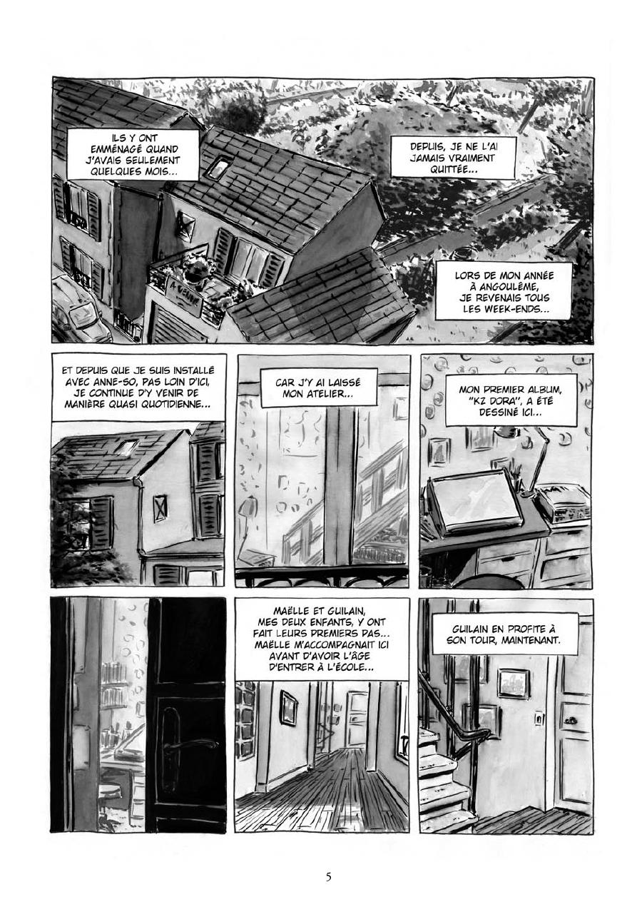 Extrait n°3 de la bd Maria et Salazar par Robin Walter