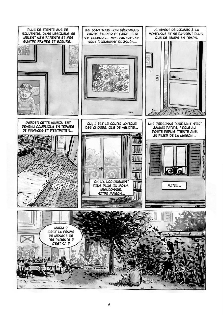 Extrait n°4 de la bd Maria et Salazar par Robin Walter
