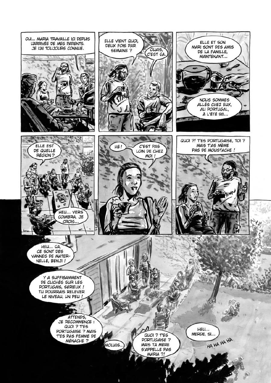 Extrait n°5 de la bd Maria et Salazar par Robin Walter