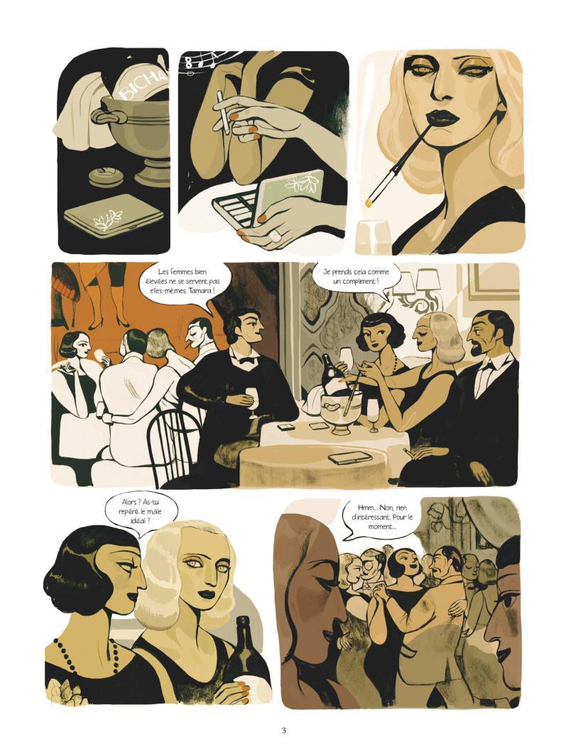 Extrait n°1 Une femme moderne par Virginie Greiner
