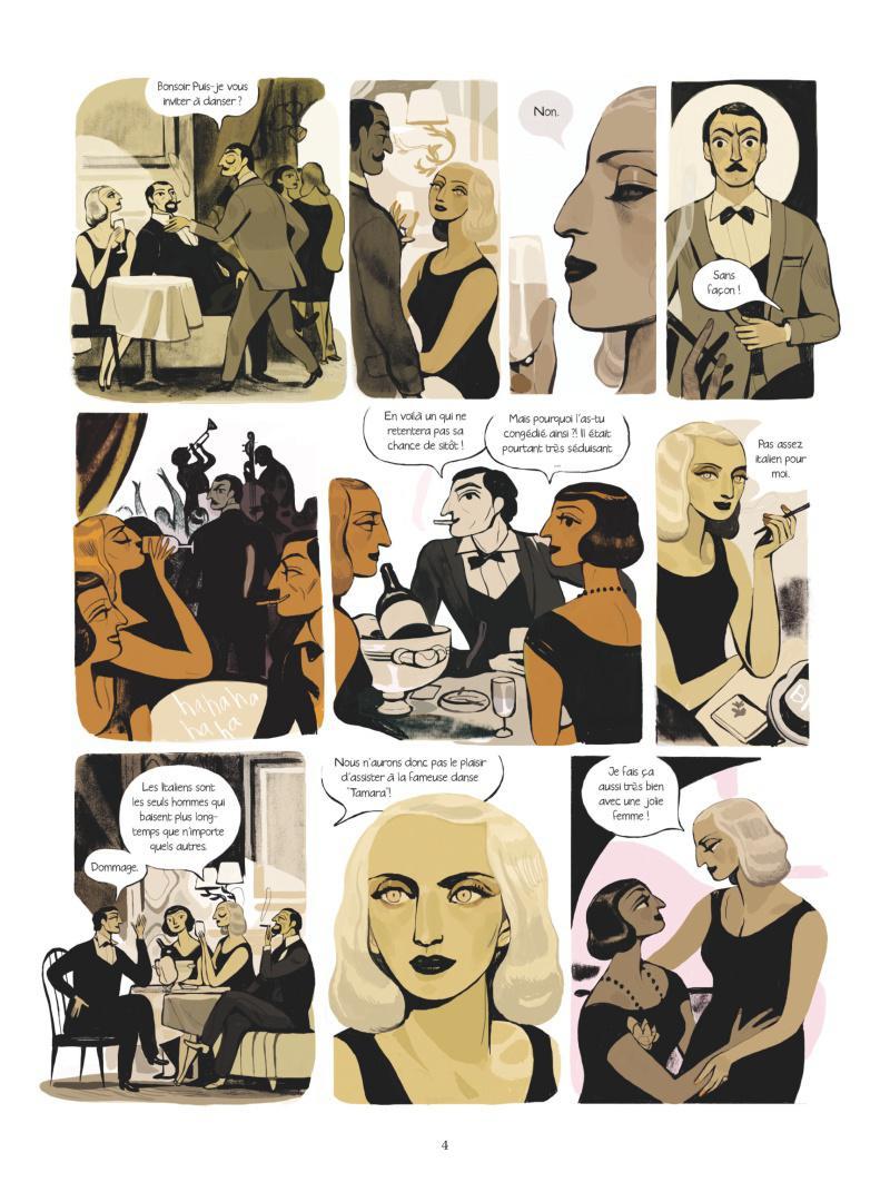 Extrait n°2 Une femme moderne par Virginie Greiner