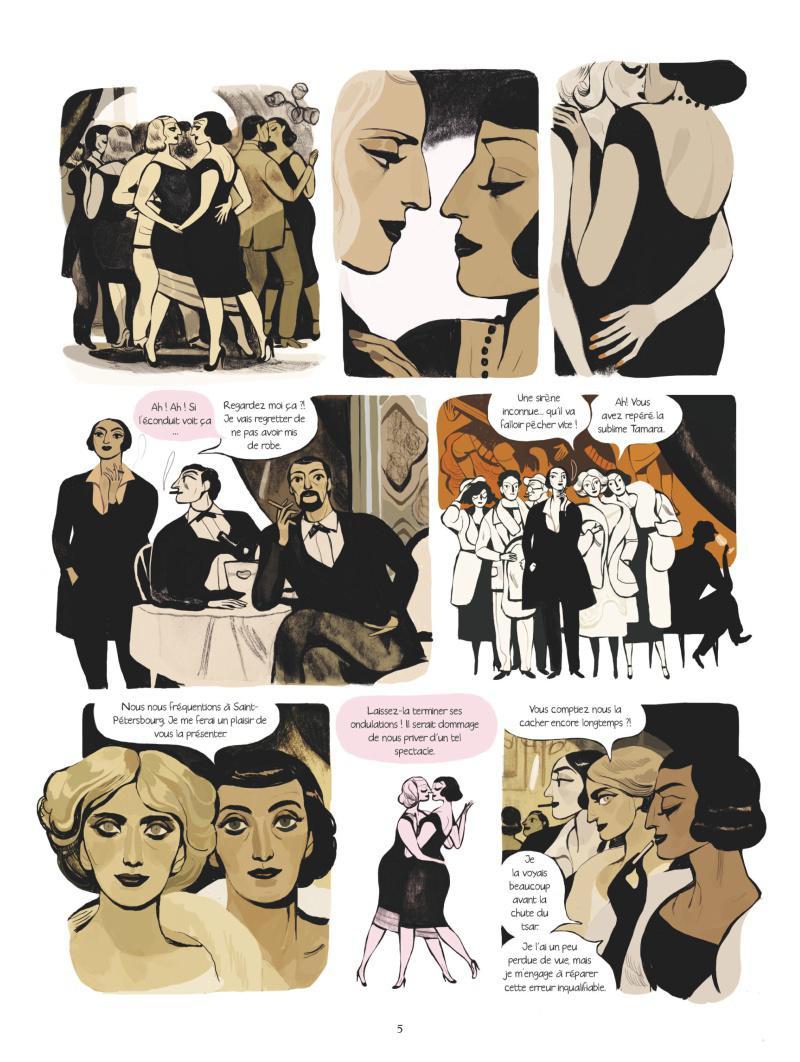Extrait n°3 Une femme moderne par Virginie Greiner