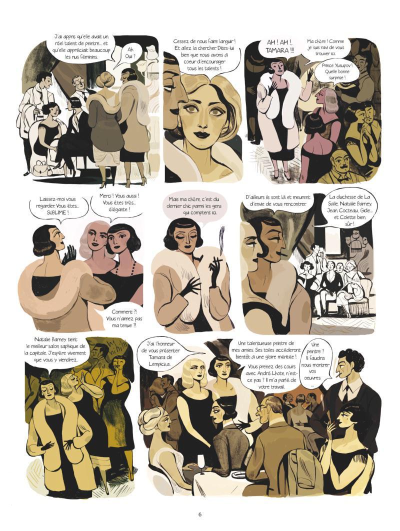Extrait n°4 Une femme moderne par Virginie Greiner