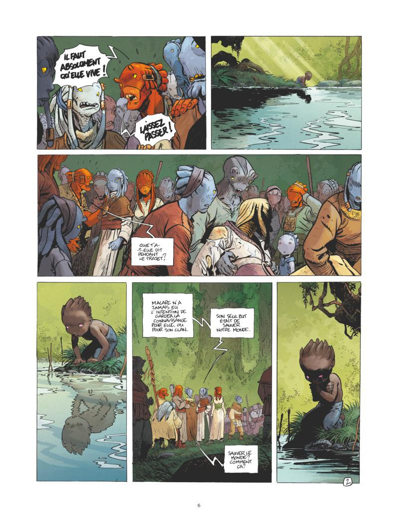 Extrait n°2 de la bd tome 7 par Régis Loisel