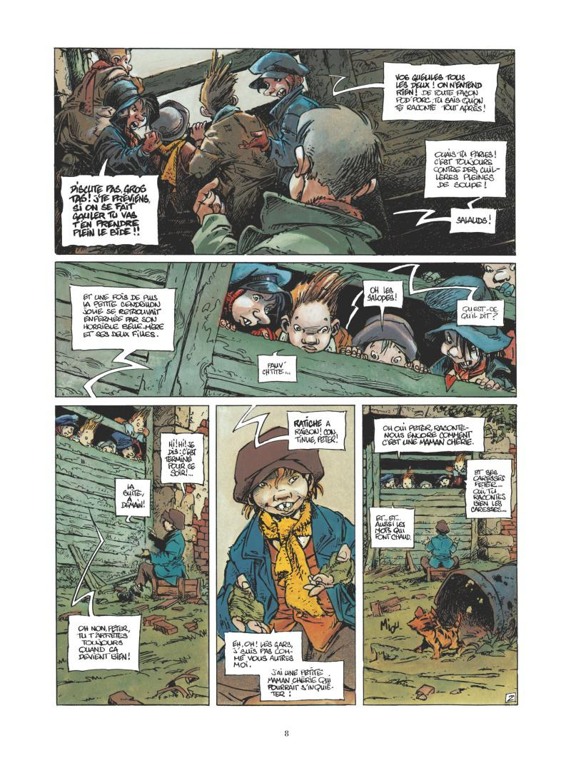 Extrait n°4 de la bd par Régis Loisel