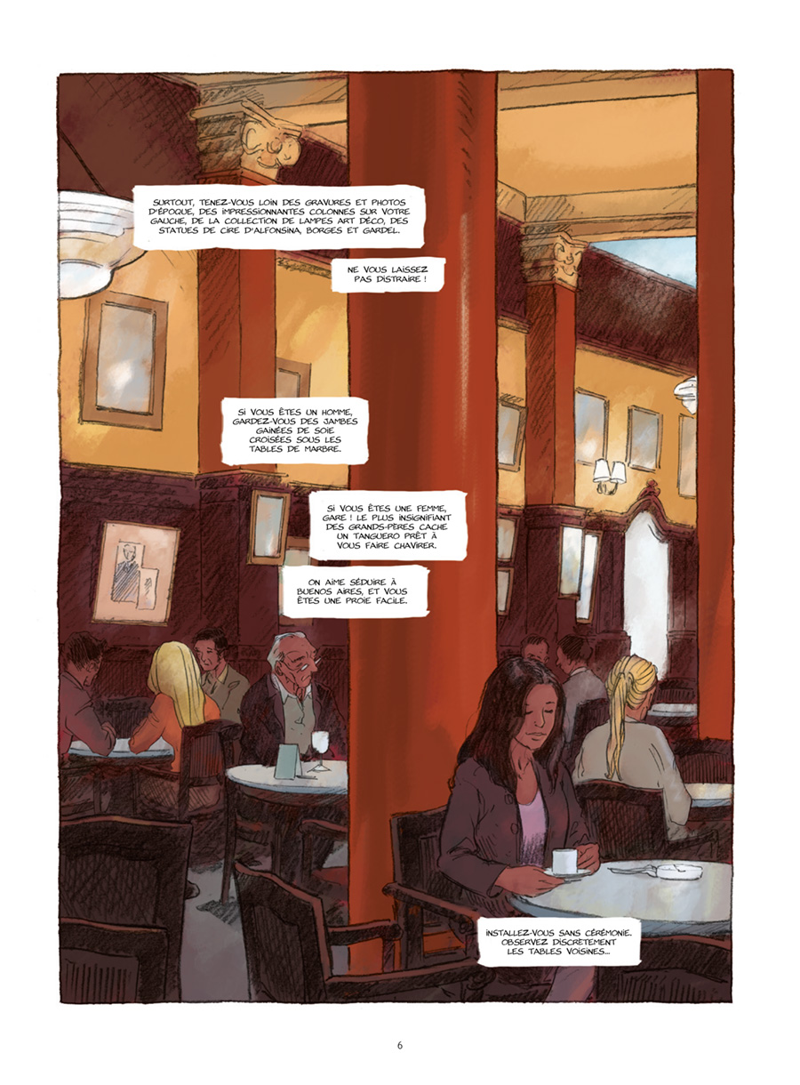 Extrait n°2 de la bd Gran Cafe Tortoni