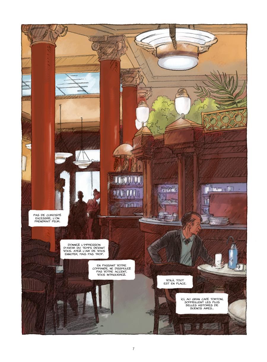 Extrait n°3 de la bd Gran Cafe Tortoni