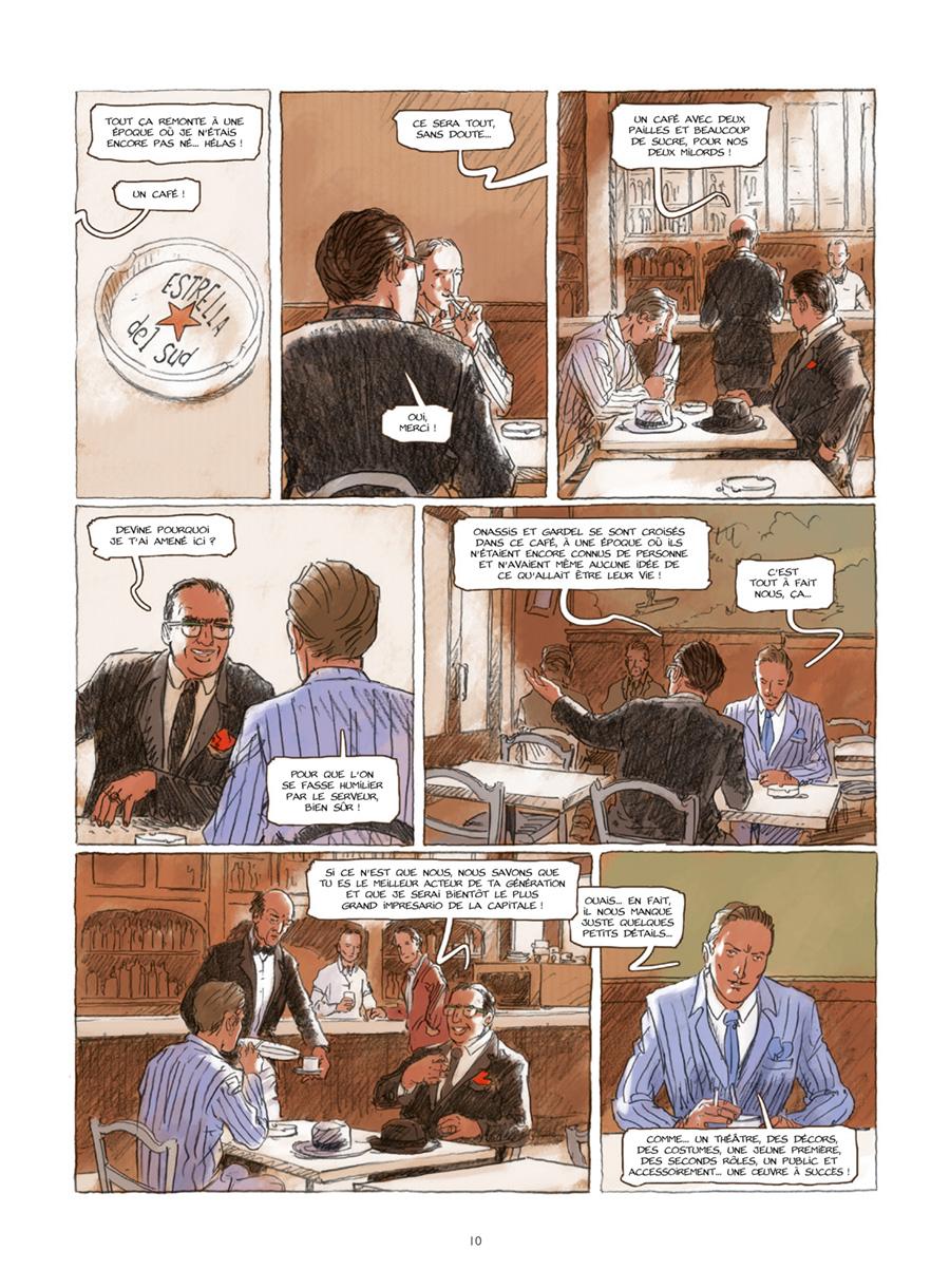 Extrait n°6 de la bd Gran Cafe Tortoni