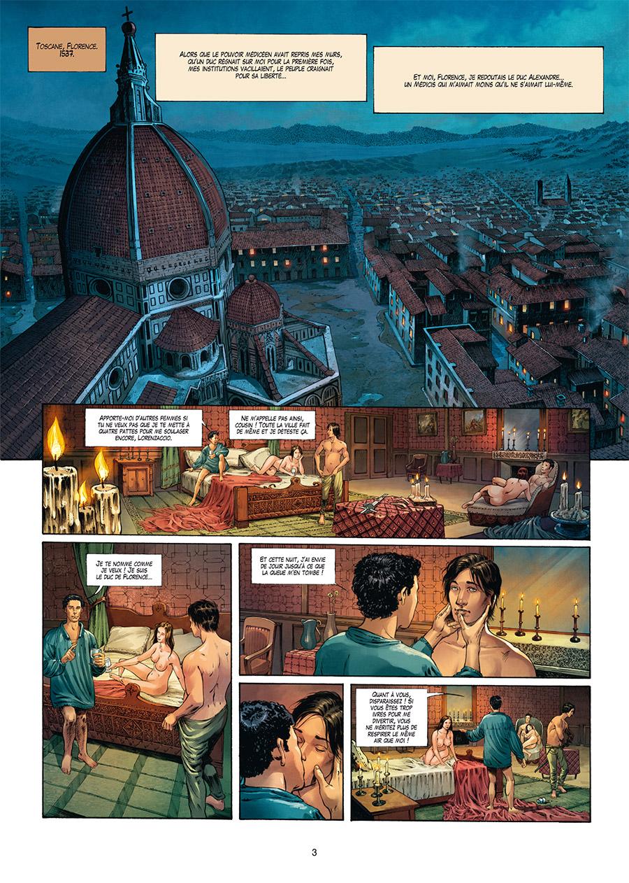 Extrait n°1 de la bd tome 4 par Francesco Mucciacito
