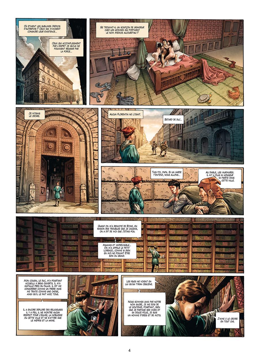 Extrait n°2 de la bd tome 4 par Francesco Mucciacito