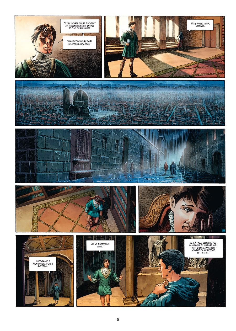 Extrait n°3 de la bd tome 4 par Francesco Mucciacito