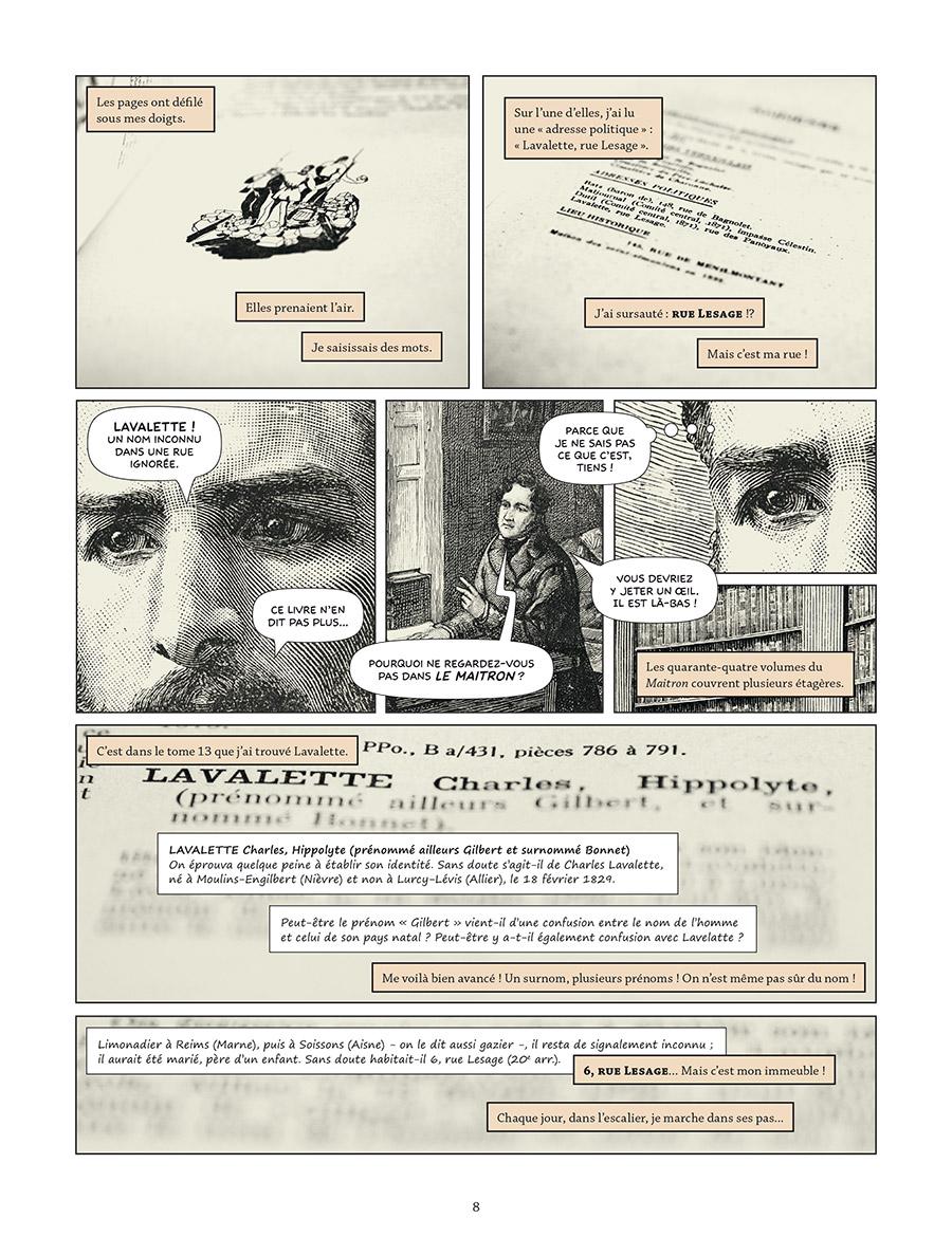 Extrait n°4 de la bd tome 1 par Raphaël Meyssan