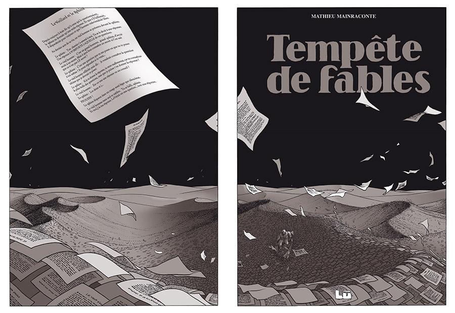 Extrait n°1 Livre des Livres par Marc-Antoine Mathieu