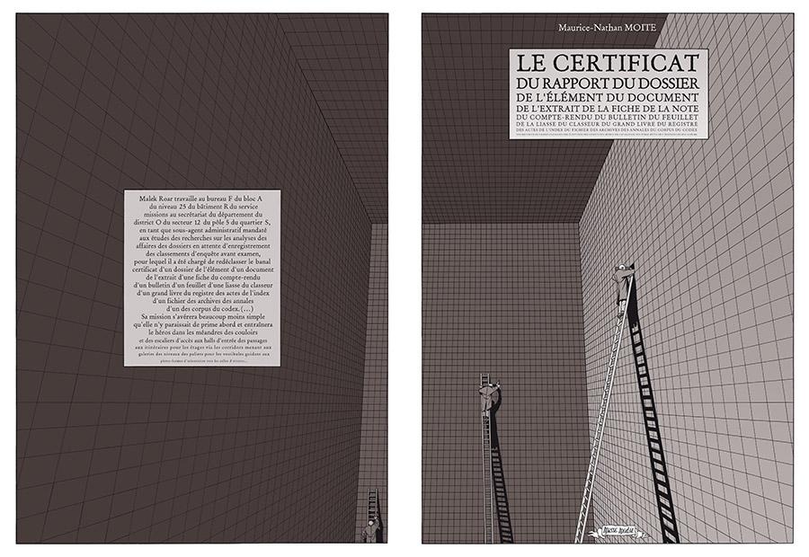 Extrait n°2 Livre des Livres par Marc-Antoine Mathieu