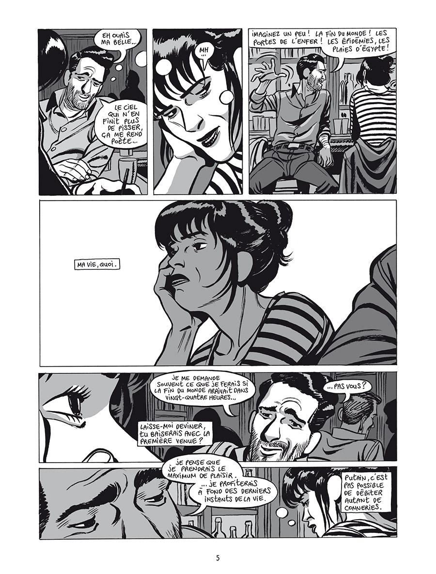 Extrait n°3 de la bd L'Homme gribouillé par Serge Lehman