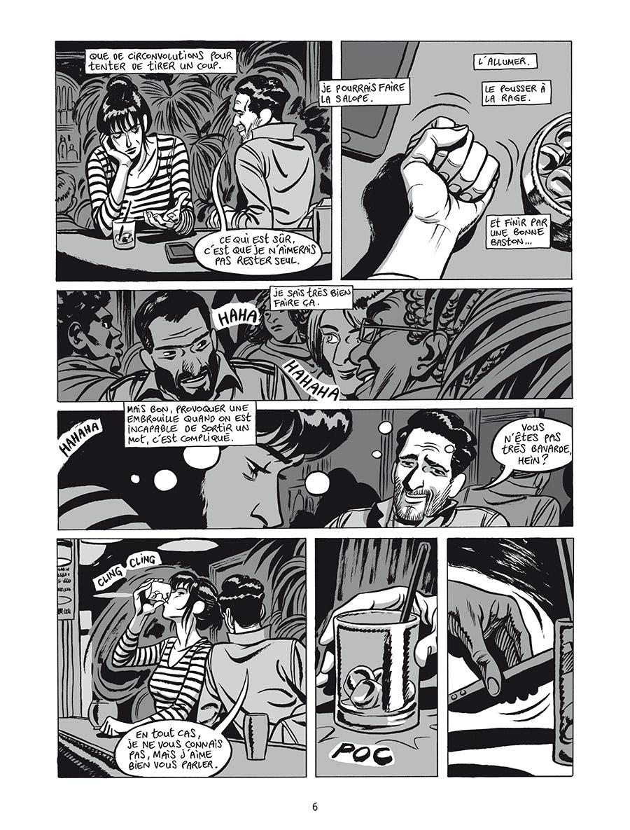 Extrait n°4 de la bd L'Homme gribouillé par Serge Lehman