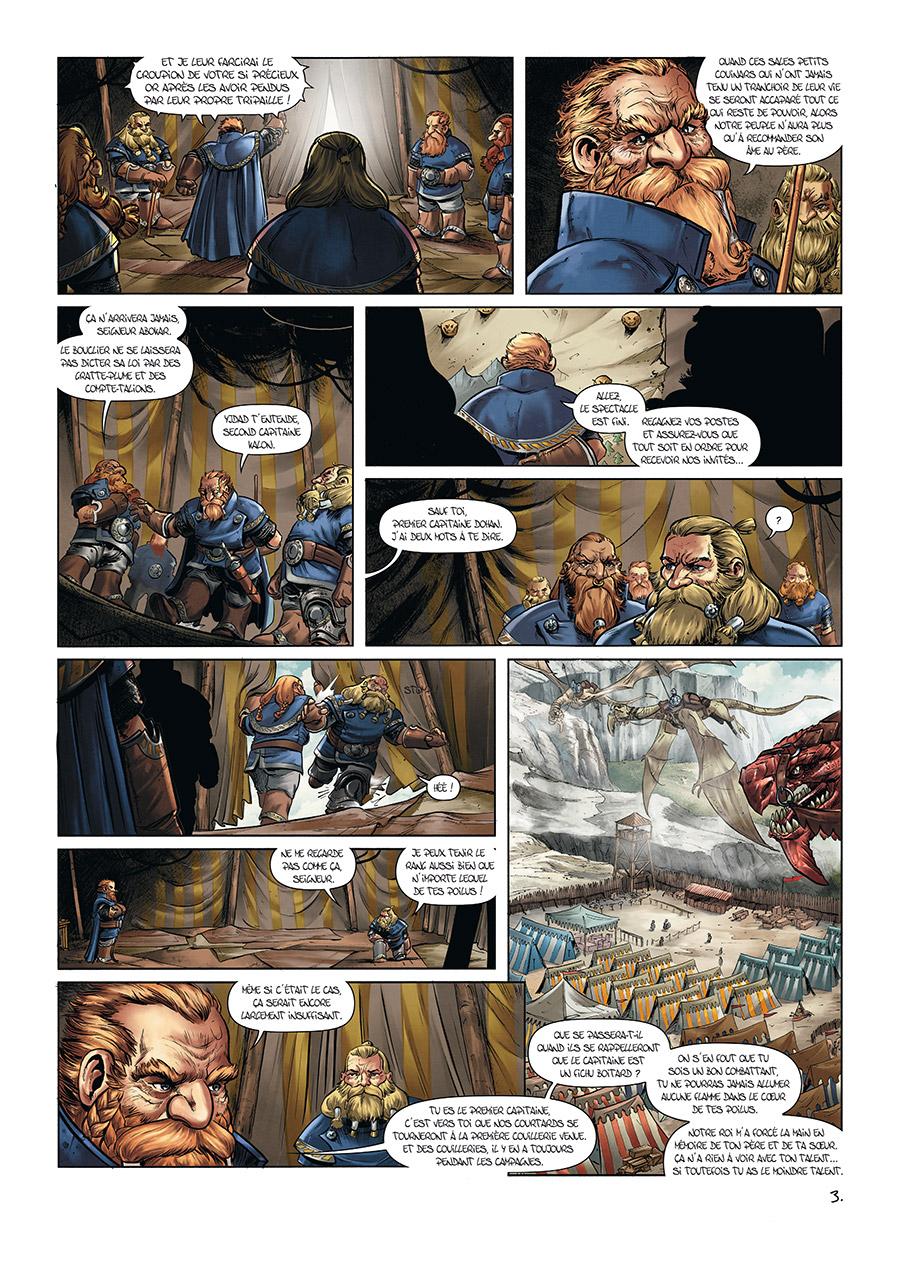 Extrait n°3 de la bd tome 10 par Nicolas Demare