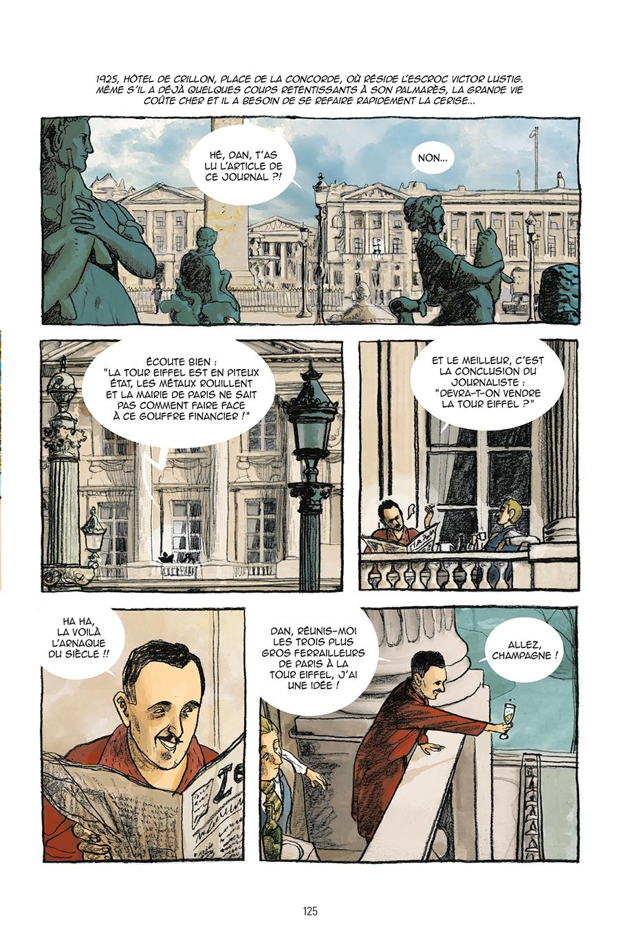 Extrait n°2 de la bd Guide de Paris en bandes dessinées par Derji