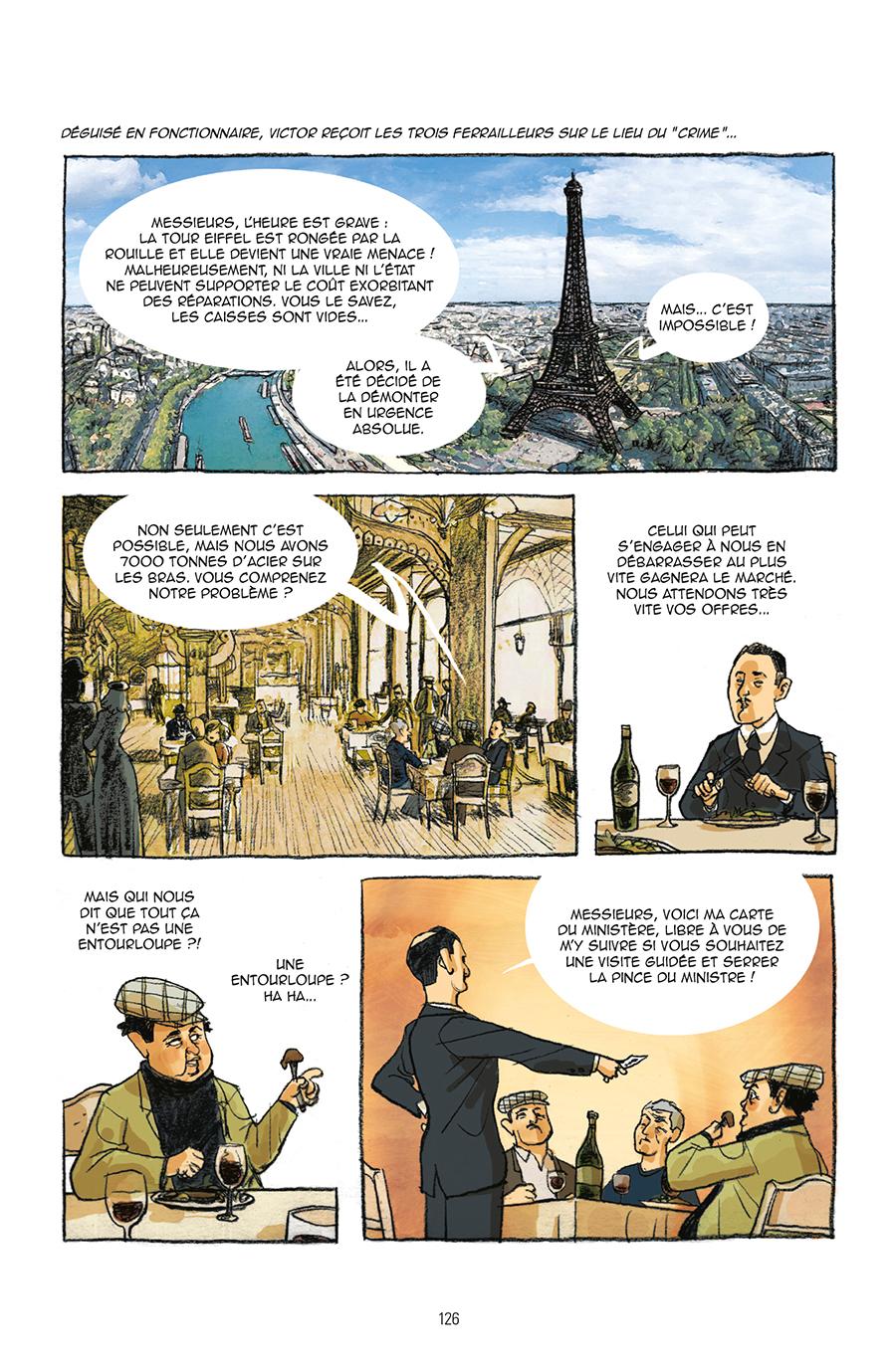 Extrait n°3 de la bd Guide de Paris en bandes dessinées par Derji