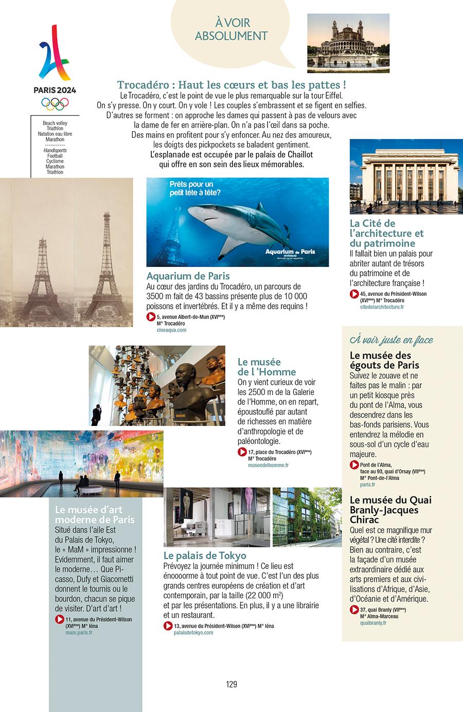 Extrait n°5 de la bd Guide de Paris en bandes dessinées par Derji