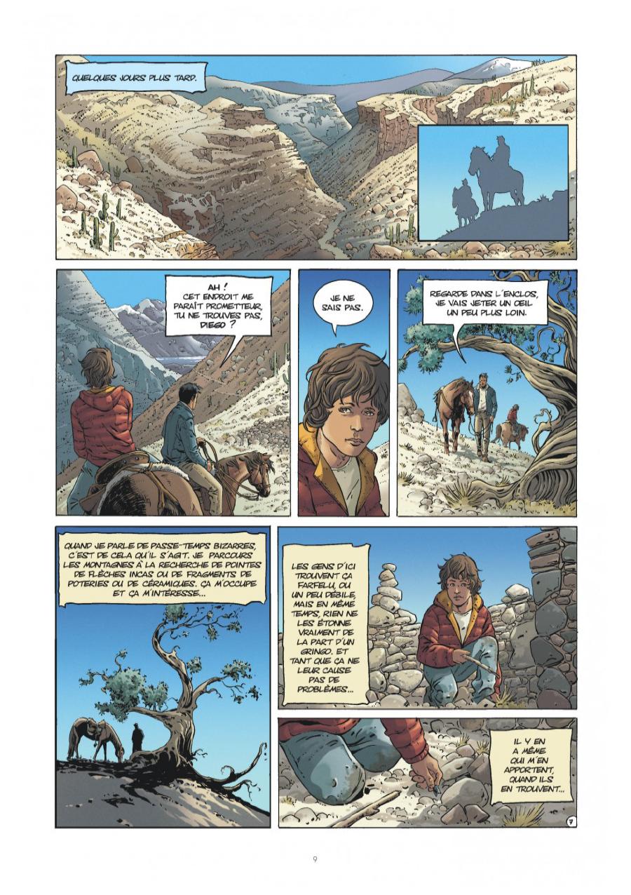 Extrait n°7 tome 1 par Matz