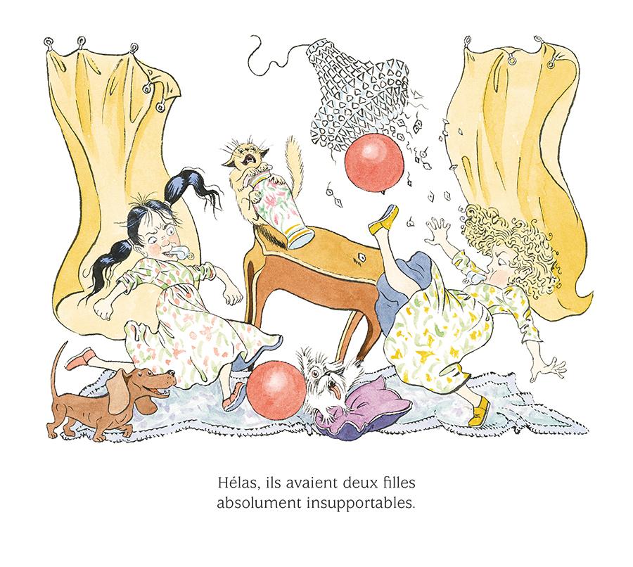 Extrait n°5 de la bd Brune et Rose, absolument insupportables par Nicole Claveloux