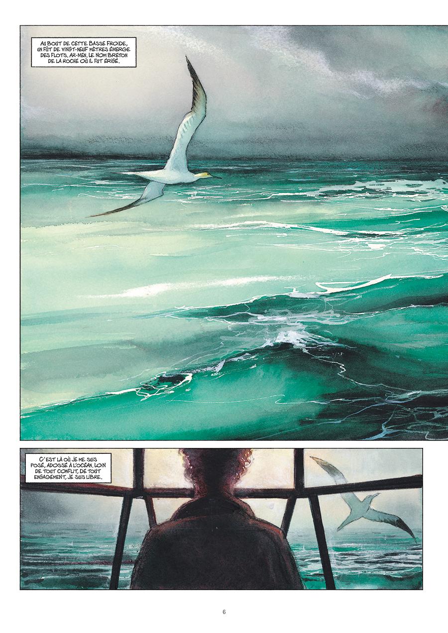 Extrait n°4 de la bd Ar-Men, L'Enfer des Enfers par Emmanuel Lepage