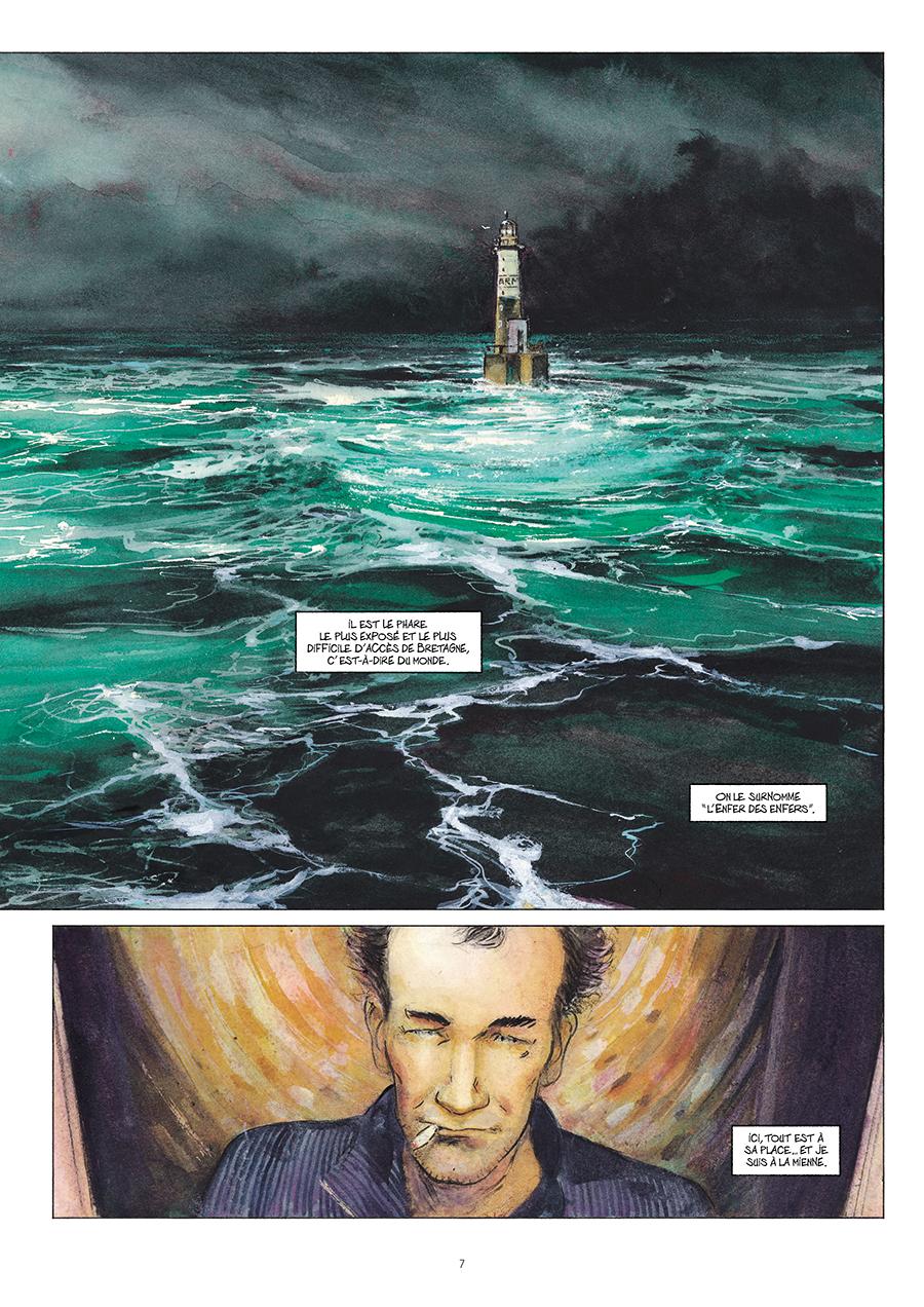 Extrait n°5 de la bd Ar-Men, L'Enfer des Enfers par Emmanuel Lepage