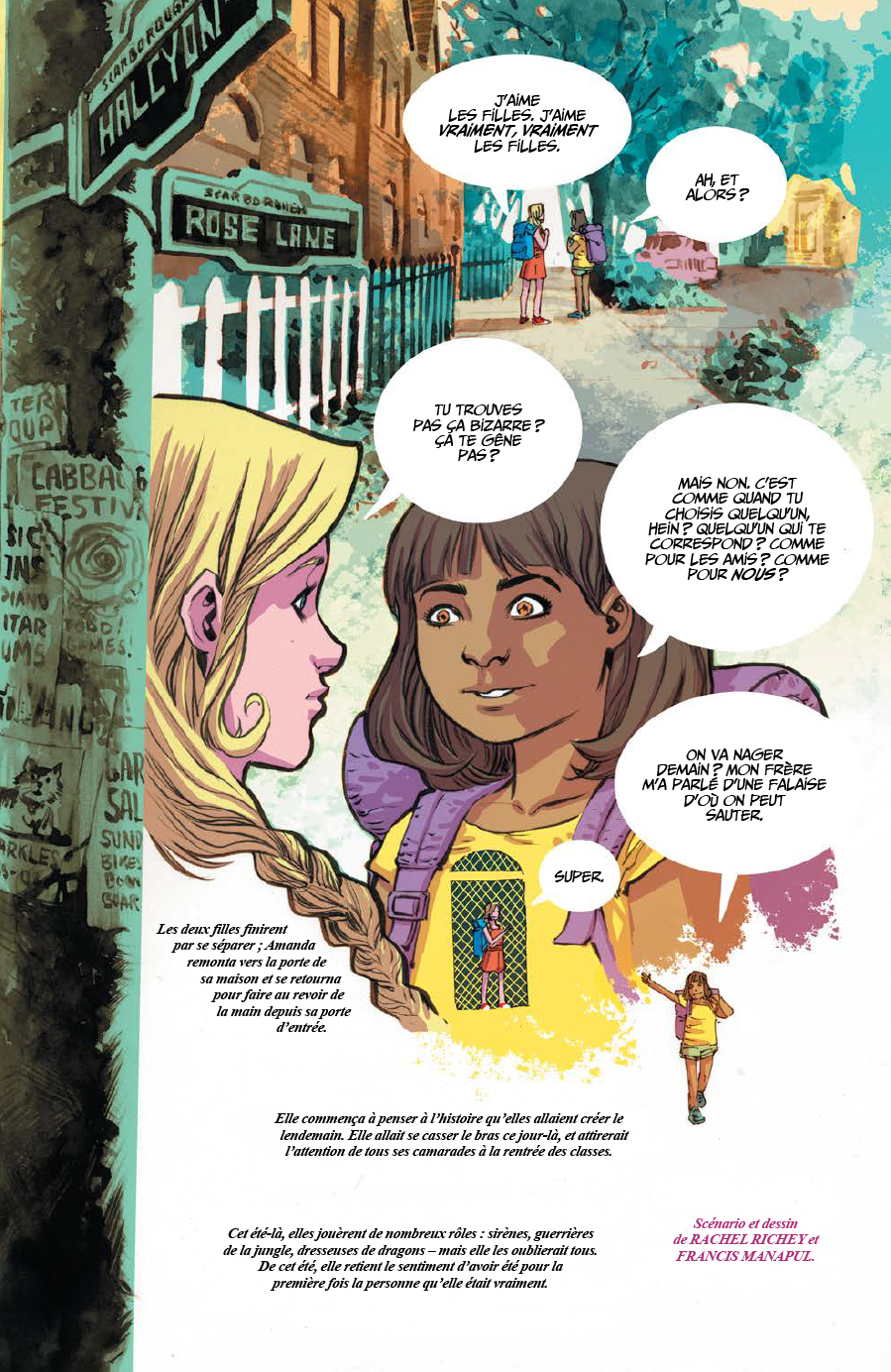 Extrait n°6 du comics Love is Love par Collectif