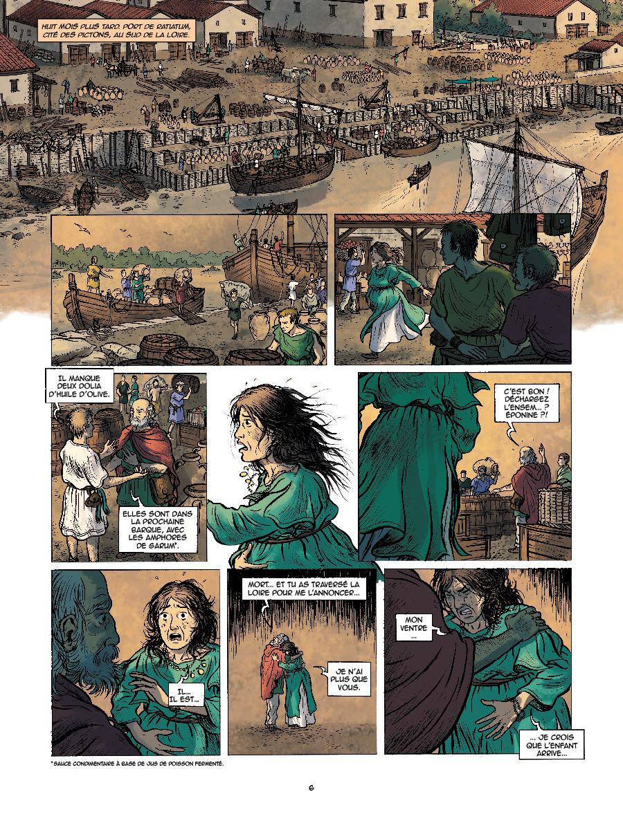 Extrait n°5 de la bd tome 1 par Kévin Bazot