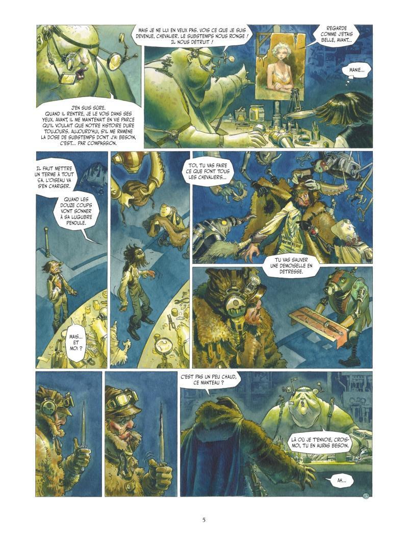 Extrait n°3 de la bd tome 4 par Wilfrid Lupano