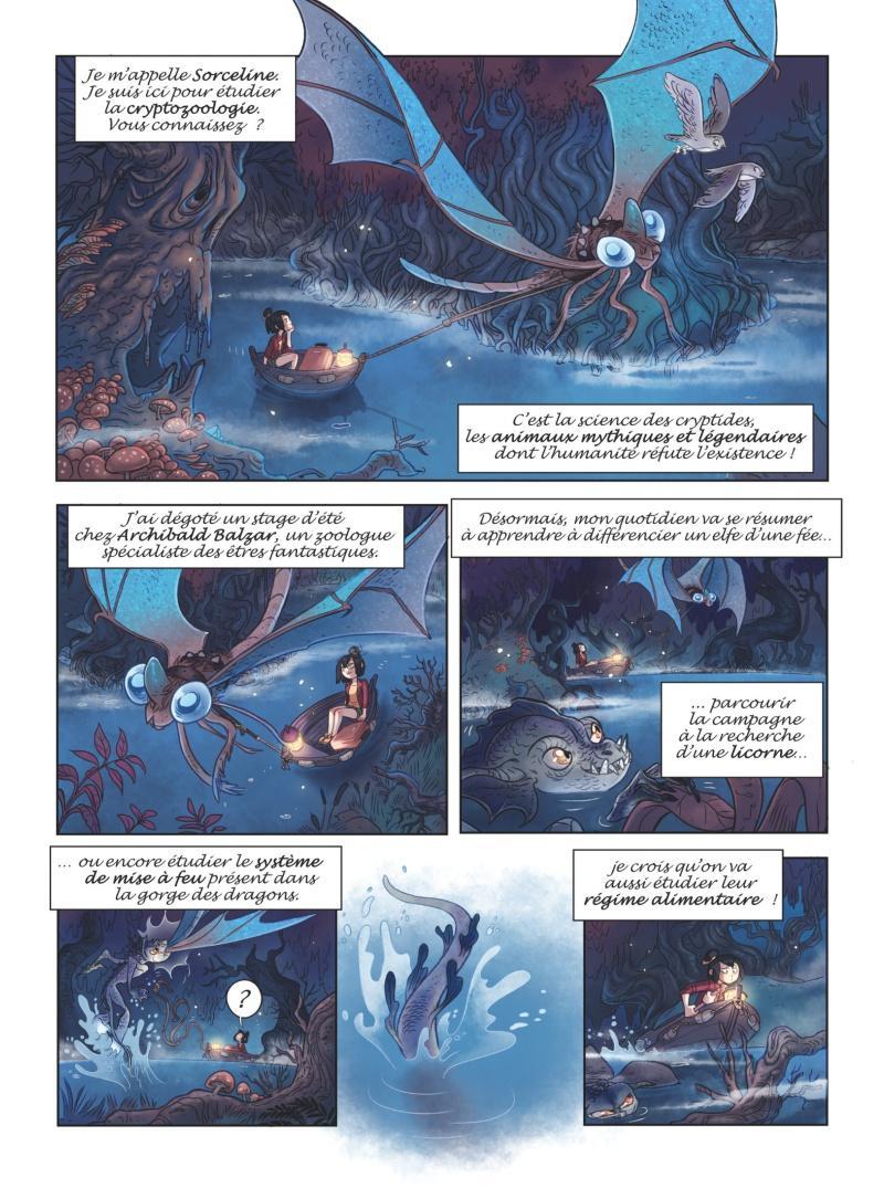 Extrait n°2 tome 1 par Sylvia Douyé