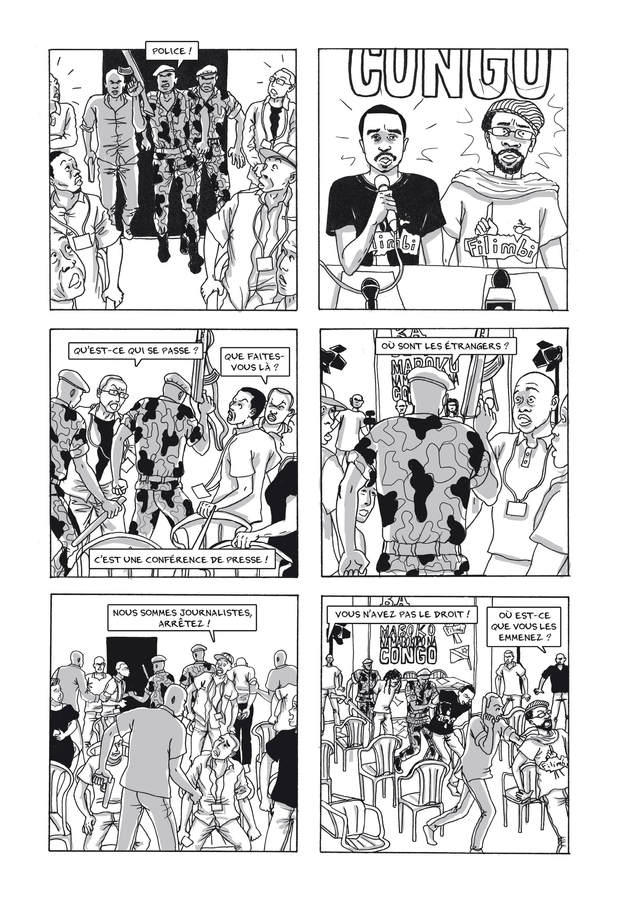 Extrait n°3 de la bd La Lucha