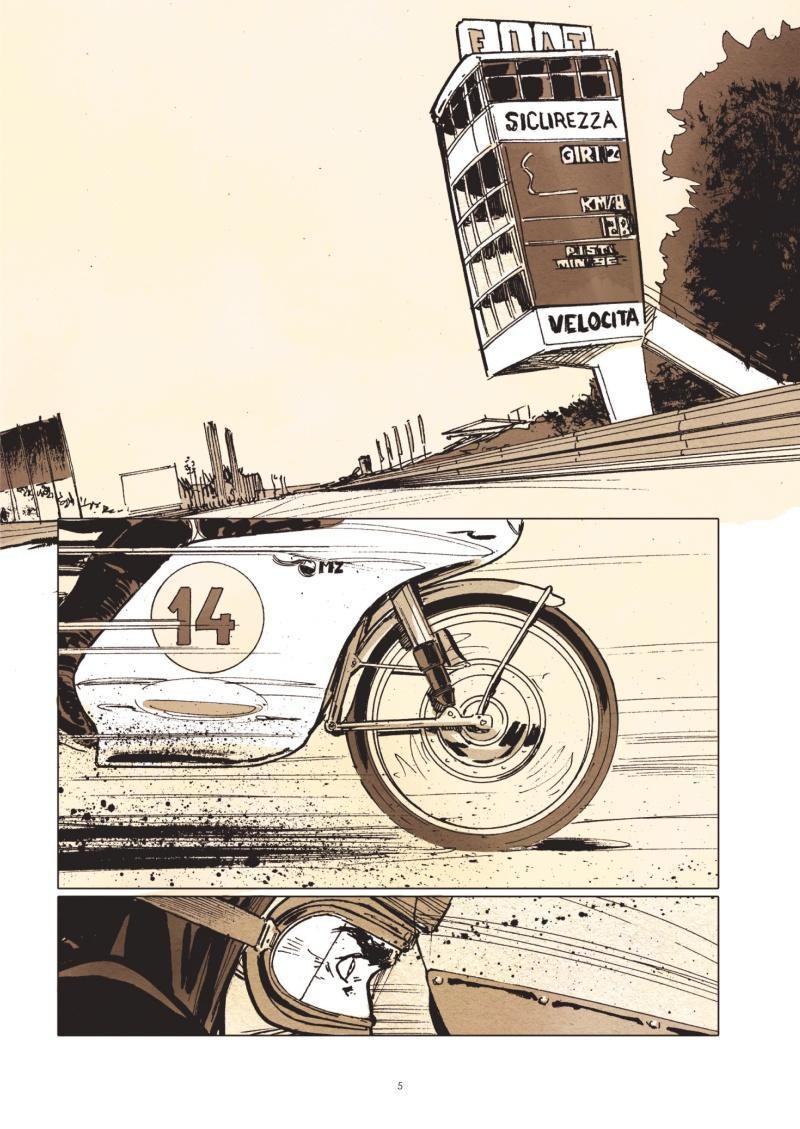 Extrait n°1 de la bd Le Prix de la vitesse par Christian Papazoglakis