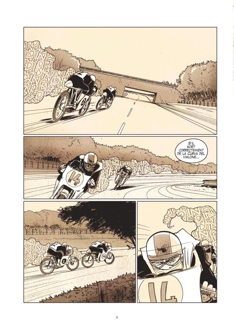 Extrait n°4 de la bd Le Prix de la vitesse par Christian Papazoglakis