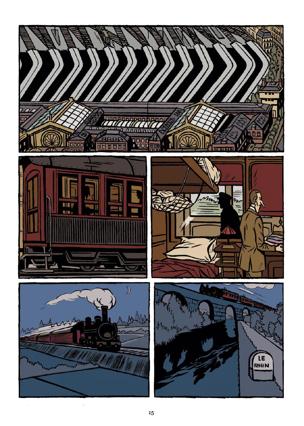 Extrait n°5 de la bd La Tragédie Brune par Christophe Gaultier