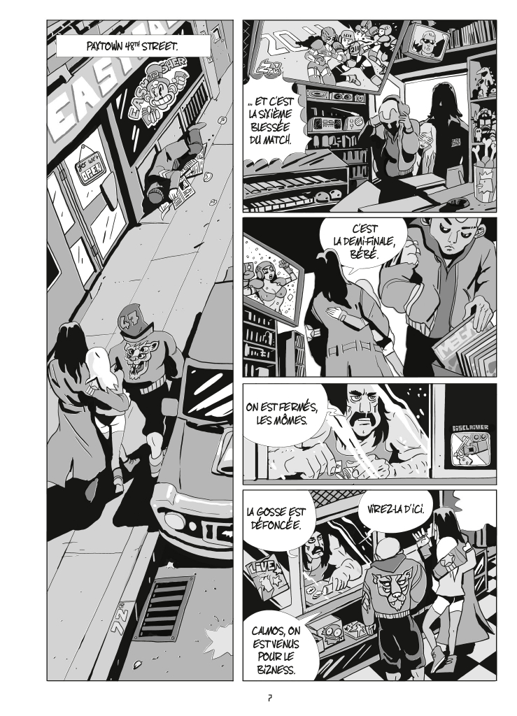 Extrait n°5 de la bd tome 1 par Bastien Vivès