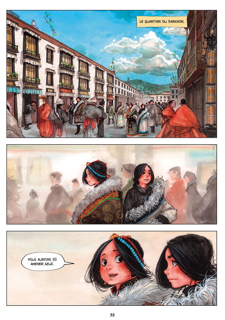 Extrait n°1 de la bd tome 2 par Chao Fan (Riz sauté)