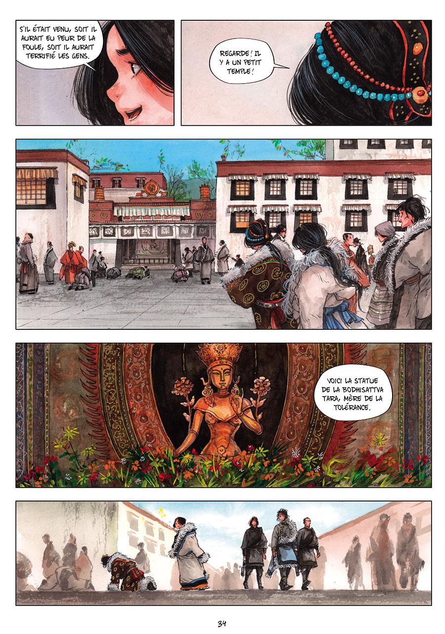 Extrait n°2 de la bd tome 2 par Chao Fan (Riz sauté)